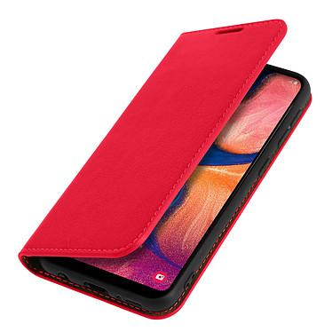 Avizar Etui folio Rouge pour Samsung Galaxy A20e pas cher