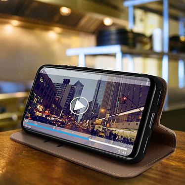 Avis Avizar Etui folio Dorée Éco-cuir pour Xiaomi Mi A3