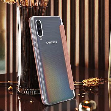Avis Avizar Etui folio Rose Champagne pour Samsung Galaxy A50 , Samsung Galaxy A30s