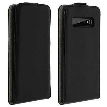 Avizar Etui à clapet Noir pour Samsung Galaxy S10 Etui à clapet Noir Samsung Galaxy S10