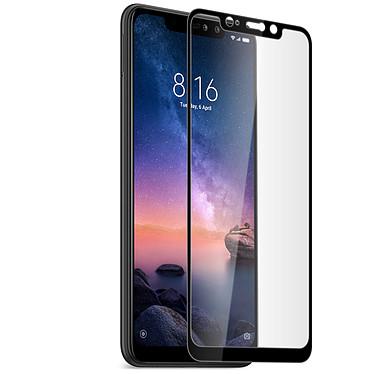 Avizar Film verre trempé Noir pour Xiaomi Redmi Note 6 Pro Film verre trempé Noir Xiaomi Redmi Note 6 Pro