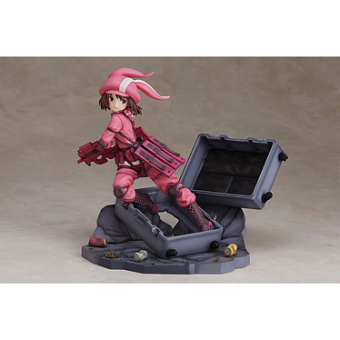 Sword Art Online Alternative Gun Gale Online - Statuette 1/7 Llenn Sudden Attack Ver. 18 cm Statuette Sword Art Online Alternative Gun Gale Online, modèle 1/7 Llenn Sudden Attack Ver. 18 cm.