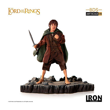Le Seigneur des Anneaux - Statuette 1/10 BDS Art Scale Frodo 14 cm Statuette 1/10 Le Seigneur des Anneaux, modèle BDS Art Scale Frodo 14 cm.
