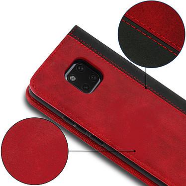 Acheter Avizar Etui folio Rouge Éco-cuir pour Huawei Mate 20 Pro