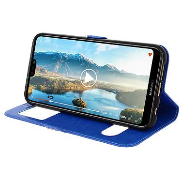 Avis Avizar Etui folio Bleu pour Huawei P20 Lite