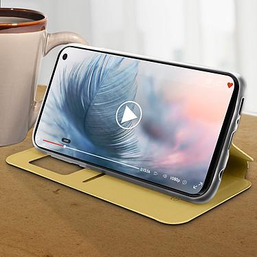 Avis Avizar Etui folio Dorée pour Samsung Galaxy S10e
