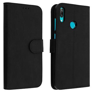 Avizar Etui folio Noir pour Huawei Y7 2019 Etui folio Noir Huawei Y7 2019