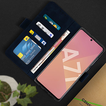 Acheter Avizar Etui folio Bleu Nuit pour Samsung Galaxy A71