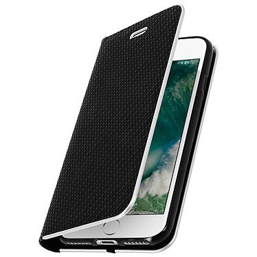 Avizar Etui folio Noir pour Apple iPhone 7 , Apple iPhone 8 pas cher