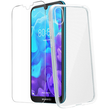 Avizar Pack protection Transparent pour Huawei Y5 2019 , Honor 8S pas cher