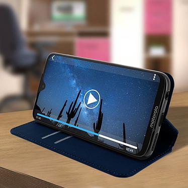 Avis Avizar Etui folio Bleu Nuit pour Motorola Moto G7 Power