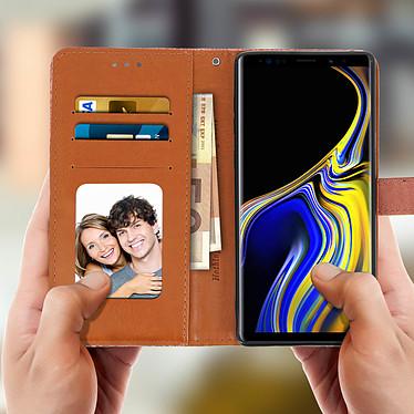 Acheter Avizar Etui folio Rose Champagne Éco-cuir pour Samsung Galaxy Note 9