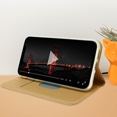 Acheter Avizar Etui folio Dorée Éco-cuir pour Apple iPhone 11