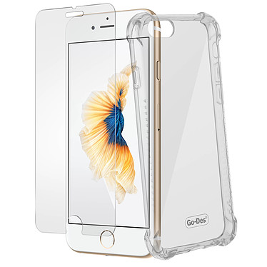 Avizar Pack protection Transparent pour Apple iPhone 6 , Apple iPhone 6S pas cher