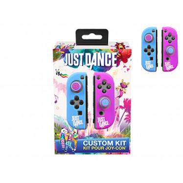 Just Dance Kit de customisation officiel Protections en silicone, anti-dérapante avec caps pour manette Nintendo Switch JoyCon