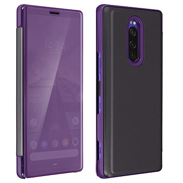 Avizar Etui folio Violet pour Sony Xperia 1 Etui folio Violet Sony Xperia 1
