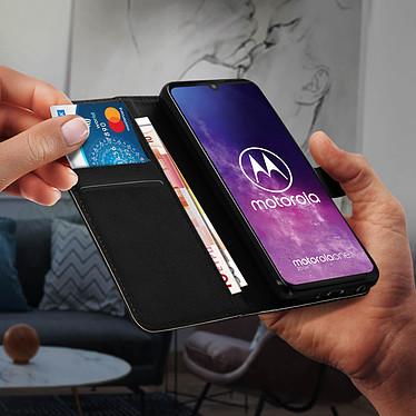 Avis Avizar Etui folio Noir pour Motorola One Pro , Motorola One Zoom