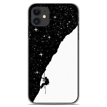 1001 Coques Coque silicone gel Apple iPhone 11 motif BS Nightclimbing Coque silicone gel Apple iPhone 11 motif BS Nightclimbing