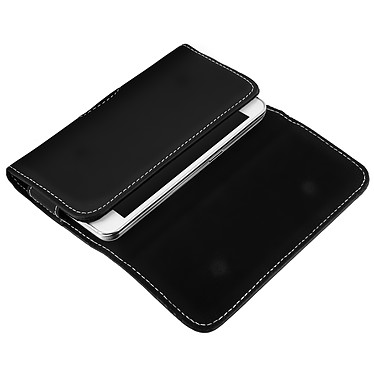 Acheter Avizar Etui ceinture Noir pour Smartphone de taille maximale 137 x 67 mm