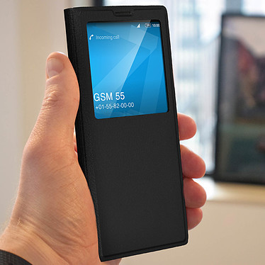 Avis Avizar Etui folio Noir à fenêtre pour Sony Xperia 1