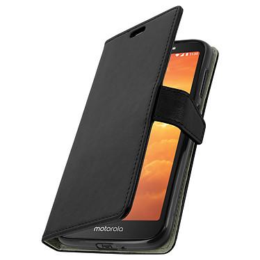 Avizar Etui folio Noir pour Motorola Moto E5 Play pas cher