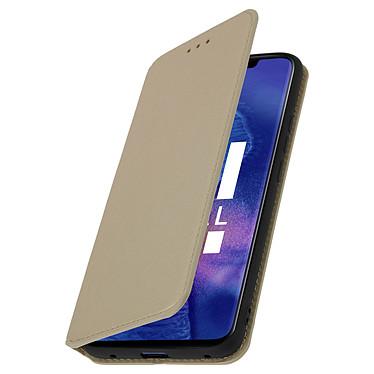 Avizar Etui folio Dorée pour Huawei Mate 20 Pro pas cher
