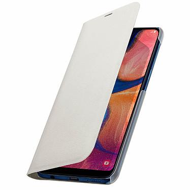 Avizar Etui folio Blanc pour Samsung Galaxy A20e pas cher