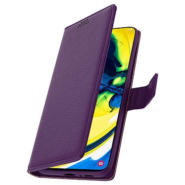 Avizar Etui folio Violet pour Samsung Galaxy A80 pas cher