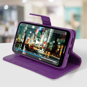 Avis Avizar Etui folio Violet pour Huawei Y5 2019 , Honor 8S