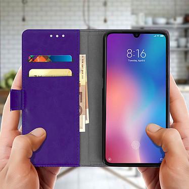 Acheter Avizar Etui folio Violet Éco-cuir pour Xiaomi Mi 9