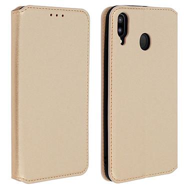 Avizar Etui folio Dorée pour Samsung Galaxy M20 Etui folio Dorée Samsung Galaxy M20
