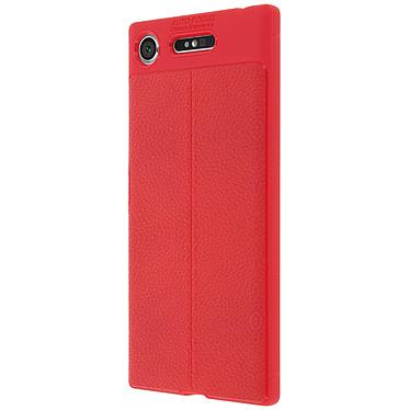 Avizar Coque Rouge pour Sony Xperia XZ1 pas cher