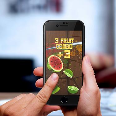 Avis Avizar Film verre trempé Noir pour Apple iPhone 7 , Apple iPhone 8 , Apple iPhone SE 2020