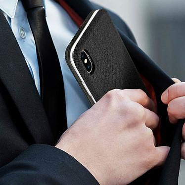Acheter Avizar Etui folio Noir Porte-Carte pour Apple iPhone X , Apple iPhone XS