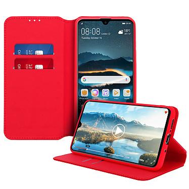 Avizar Etui folio Rouge pour Huawei Mate 20 pas cher
