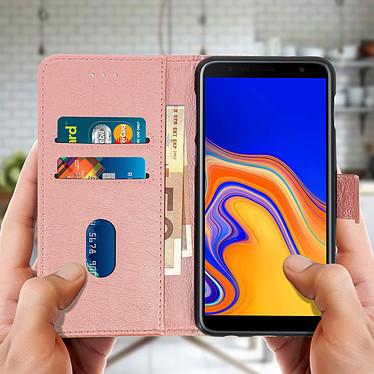 Acheter Avizar Etui folio Rose Champagne pour Samsung Galaxy J4 Plus