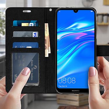Acheter Avizar Etui folio Noir Éco-cuir pour Huawei Y7 2019
