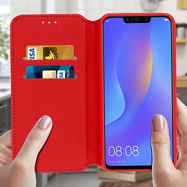 Acheter Avizar Etui folio Rouge pour Huawei P Smart Plus