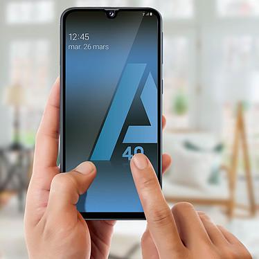 Acheter Avizar Film verre trempé Noir pour Samsung Galaxy A40