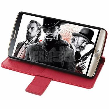 Avis Avizar Etui folio Rouge pour LG G3