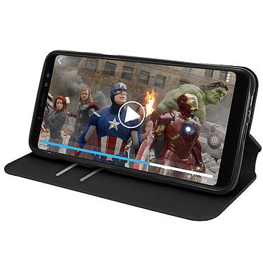 Acheter Avizar Etui folio Noir pour Samsung Galaxy A8