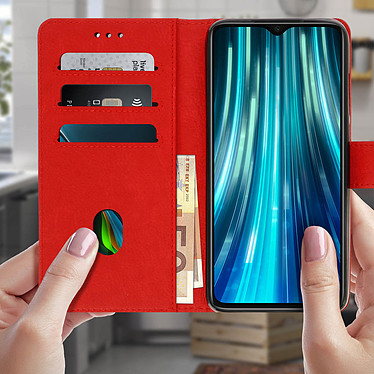 Acheter Avizar Etui folio Rouge pour Xiaomi Redmi Note 8 Pro