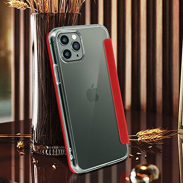 Avis Avizar Etui folio Rouge Miroir pour Apple iPhone 11 Pro