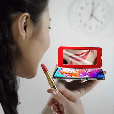 Acheter Avizar Etui folio Rouge Miroir pour Samsung Galaxy A70