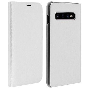 Avizar Etui folio Blanc pour Samsung Galaxy S10 Plus Etui folio Blanc Samsung Galaxy S10 Plus