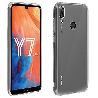 Avizar Coque Transparent pour Huawei Y7 2019 Coque Transparent Huawei Y7 2019