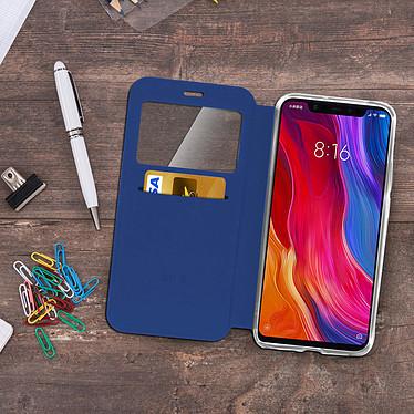 Acheter Avizar Etui folio Bleu pour Xiaomi Mi 8 , Xiaomi Mi 8 Pro