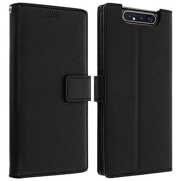 Avizar Etui folio Noir pour Samsung Galaxy A80 Etui folio Noir Samsung Galaxy A80