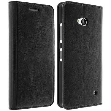 Avizar Etui folio Noir pour Nokia Lumia 640 , Microsoft Lumia 640 pas cher