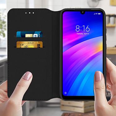 Acheter Avizar Etui folio Noir Éco-cuir pour Xiaomi Redmi 7